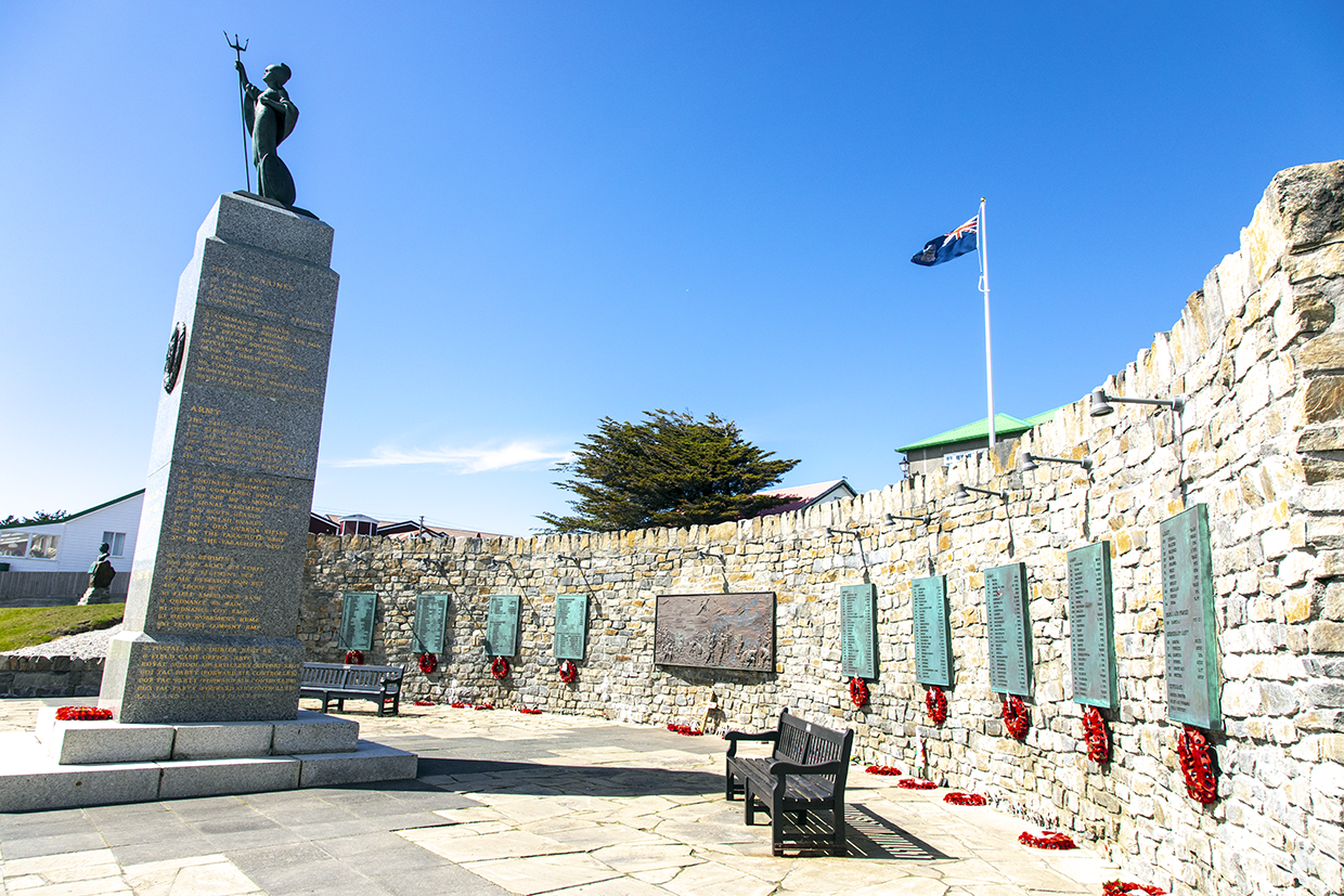 Monument on Falkalnds